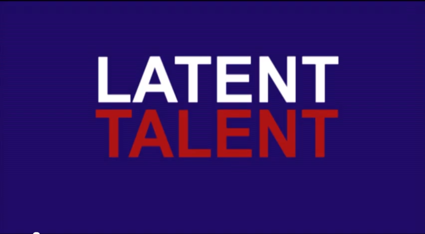"""Latent Talent""   (product promotie)"